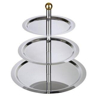 Cake tray FINESSE 3-floor 32-48cm h-50cm