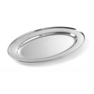 Tray metal oval 60cm 0.7mm