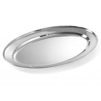 Tray metal oval 65cm 0.7mm