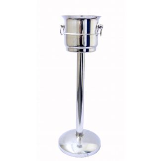 Champagne dish-stand F10 ø 18cm h-67.5cm gold stand