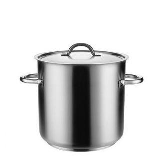 Boiler with lid ø35cm h-35cm 33.6 l