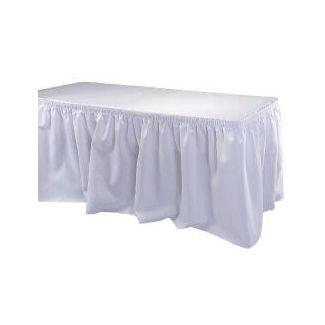 Tableskirt 72x200cm white