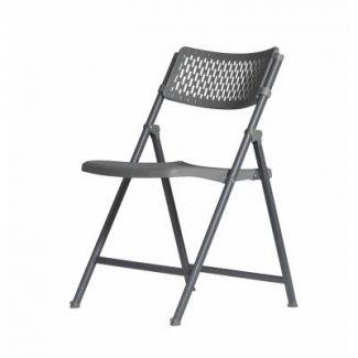 Chair 50x52 cm h-81 cm foldable grey
